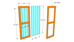 Plans To Build A Small Wood Shed by How To Build Double Shed Doors Howtospecialist How To Build