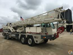 2001 TEREX T560 TRUCK CRANE Crane For Sale In Dallas Texas On ...