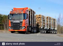 LIETO, FINLAND - APRIL 12, 2018: Orange Scania R650 Logging Truck On ... Volvo Trucks And Renova Test Autonomous Refuse Truck Team Fin Chevy Silverado 2500 Farm Industry News Truckplatooning Deemed Flawless Wardsauto Alpine Truck Driver Traing Get Your Az License Admission Mercedesbenz Starts Practical Trials For Its Allectric 2017 Toyota Tundra 57l V8 Crewmax 4x4 Review Car And Driver How To Your Restaurant Idea With A Food Business 2018 Test Truck Modern Mack General Discussion Hightech Crash Testing Scania Group 060 Tow Archives The Fast Lane Chevrolet Vs Ford F150 Comparison