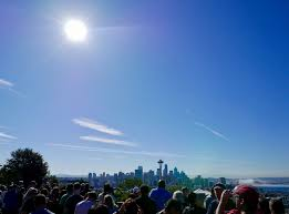 Seattle Christmas Tree Disposal by Eclipse Journal Sleuths Solve Mystery Of The Plane And The Corona