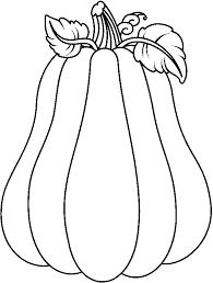 Black & White clipart pumpkin 4