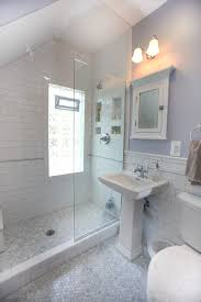 bathroom subway tile traditional with shower tub san francisco