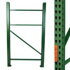 Teardrop Pallet Rack Upright Frames