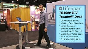 Lifespan Treadmill Desk Gray Tr1200 Dt5 by Lifespan Fitness Tr5000 Dt7 Treadmill Desk Fitness Expo 2014