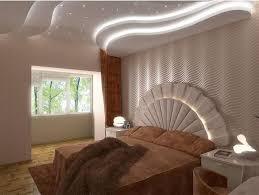 Pop Design Bedroom Ceiling Home And Interior Decoration Bed Wallpaper Lights Models 2016