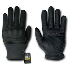 rapid dominance hard knuckle slip on gloves black 581895 body