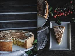herbstgenuss apfel schmand torte bakes