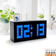 kreative led digital elektronische uhr leucht schweigen wohnzimmer wanduhr uhr kalender temperatur echten mail temperatur