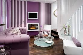 Grey And Purple Living Room Furniture by 20 Dazzling Purple Living Room Designs Rilane