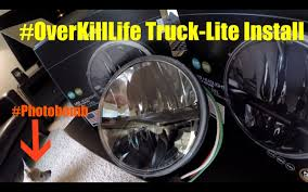 Truck-Lite Install For Jeep Wrangler JK. - YouTube Trucklite Headlights And Fog Lights For Jeep Jk Fog Truck Lite Led Headlight 270c Trucklite Launches Model 900 A Full Rear Lamptrucklite 7 Round Review Better Generation 2 Phase 4x4ovlander 27291c Driver Side Chrome Trucklites Cversion Wranglers Headlights Standard On Intertionals Prostar Auxiliary Light 80275