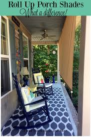 Roll Up Patio Shades by Roll Up Porch Shades For Comfort And Privacy