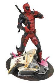 Marvel Gallery Taco Truck Deadpool PVC Figure   Diamond Select MIB ...