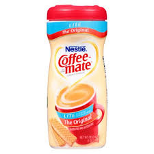 Coffee Mate Powdered Lite Creamer 11 Oz Canister 12 Carton NES74185CT