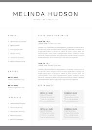 Modern Resume Template For Word & Mac Pages   Professional 1 ... Resume Template Alexandra Carr 17 Ways To Make Your Fit On One Page Findspark Sample Resume Format For Fresh Graduates Onepage The Difference Between A And Curriculum Vitae Best Free Creative Templates Of 2019 Guide Two Format Examples 018 11 Or How Many Pages Should Be A Powerful One Page Example You Can Use Write Killer Software Eeering Rsum Onepage 15 Download Use Now