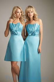 arrival strapless lightskyblue hottest nice dress for bridesmaids