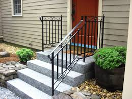Custom Iron Railings (Wrought Iron Railings) | Mill City Iron Wrought Iron Stair Railing Idea John Robinson House Decor Exterior Handrail Including Light Blue Wood Siding Ornamental Wrought Iron Railings Designs Beautifying With Interior That Revive The Railings Process And Design Best 25 Stairs Ideas On Pinterest Gates Stair Railing Spindles Oil Rubbed Balusters Restained Post Handrail Photos Freestanding Spindles Installing
