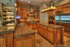 Full Size Of Kitchenrustic Kitchen Design Cabinets Traditional Medium Wood Golden Brown Luxury