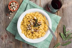 Pumpkin Risotto Recipe Vegan by Pumpkin Risotto With Toasted Hazelnuts And Sage Blog Ripple Foods