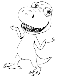 Buddy Dinosaur Train Clipart