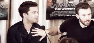 Chris Evans And Sebastian Stan Pictures