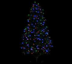 Qvc Pre Lit Christmas Trees by Santa U0027s Best 7 5 U0027 Rgb 2 0 Green Balsam Fir Christmas Tree Page 1