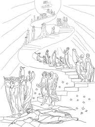 Jacobs Ladder Dream Coloring Page From Misc Artists Category Select 24848 Printable Crafts