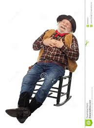 Laughing Old Cowboy Leans Back In Rocking Chair Stock Photo - Image ... Old Man Sitting In Rocking Chair And Newspaper Vector Image Vertical View Of An Old Cuban On His Veranda A A Young Is Theory Fact Ew Howe Kursi Man Rocking Chair Watching Tv Stock Royalty Free Clipart Image Collection Hickory Porch For Sale At 1stdibs Drawing Getdrawingscom For Personal Use Clipart In Art More Images The Who Falls Asleep At By Ahmet Kamil Kele Rocking Chair Genuine Old Antique Farnworth