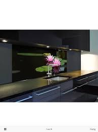 küchenrückwand spritzschutz glasbild 180x60