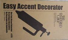 easy accent cookie cake decorator 1775 pered chef tips cap ebay