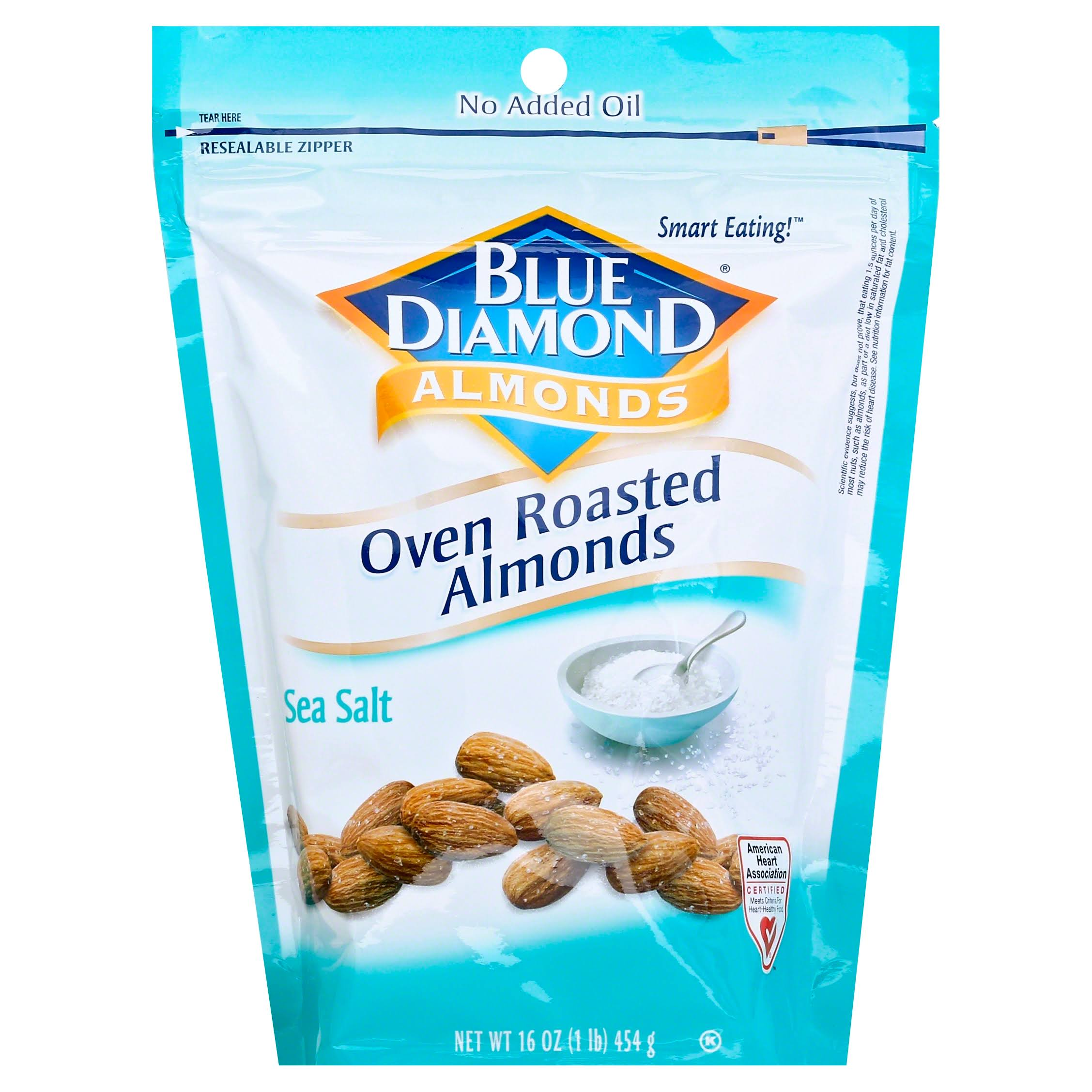 Blue Diamond Almonds - Oven Roast Sea Salt, 470ml