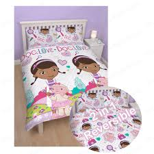 Doc Mcstuffins Bedding by Girls Double Rotary Reversible Duvet Sets Princess Paw Patrol