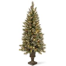 Menards Artificial Christmas Tree Stand by 6 Ft Artificial Christmas Trees Christmas Trees The Home Depot