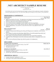 Resume Sample Architect Submitted By Yang Architecture Student