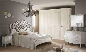 schlafzimmer classici weiß silber
