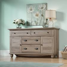 sauder harbor view dresser multiple finishes walmart com