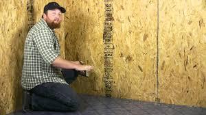 Remnant Vinyl Flooring Menards by Installing A Glueless Vinyl Floor Flooring Projects Youtube