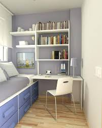 Very Small puter Desk Illustration Simple Small Bedroom