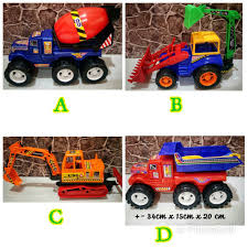 100 Big Truck Toys BIG CONSTRUCTION TRUCK READY STOCK KIDS TRUCK TOYS