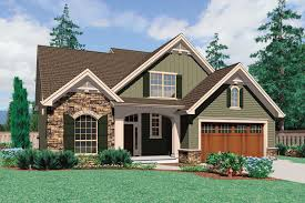 Craftsman Style House Plans Ranch by Craftsman Style House Plan 3 Beds 2 5 Baths 2164 Sq Ft Plan 48