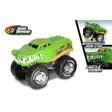 Road Rippers Wheelie Monster Truck Crocodile Dumel | Intertoys Snake Bite Monster Truck Toy State Road Rippers 4x4 Sounds Motion Road Rippers Monster Chasaurus Rc Truck Giveaway Ends 34 Share Amazoncom Bigfoot Rhino Wheelie Motorized Forward Rock And Roller Rat Rod Vehicle Thekidzone Ram Rammunition Wheelies Sounds Find More Dodge For Sale At Up To 90 Off Garbage Tankzilla 50 Similar Items New Bright 124 Jam Grave Digger Sound Lights Forward Reverse Lamborghini Huracan Car Cuddcircle Race Car Toy State Wrider Orange Lights