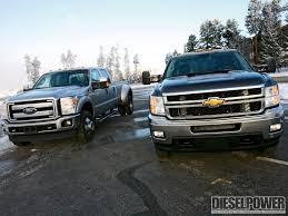 100 Ford Trucks Vs Chevy Trucks King Of The Hill Silverado Vs Super Duty Diesel Power Magazine