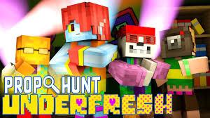 Minecraft UNDERFRESH PROP HUNT UNDERTALE AU Undertale Roleplay
