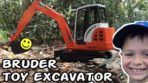 Construction Truck Videos For Children L BRUDER TOY EXCAVATOR ... Cstruction Trucks Toys For Children Tractor Dump Excavators Truck Videos Rc Trailer Truckmounted Concrete Pump K53h Cifa Spa Garbage L Crane Flatbed Bulldozer Launches Ferry Excavator Working Tunes 1 Full Video 36 Mins Of Truck Videos For Kids Vehicles Equipment The Kids Picture This Little Adorable Road Worker Rides His Tonka Toy Tow And Toddlers 5018 Bulldozers Vs Scrapers
