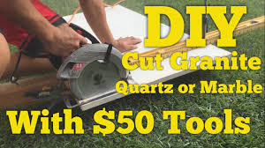 Bullnose Tile Blade Harbor Freight by 50 Diy How To Cut Quartz Granite Or Marble Counter With A