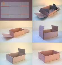 Коробка из Риста бумаги Лайфхаки Useful Pinterest