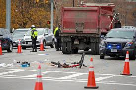 Bicyclist Struck And Killed By Dump Truck | Boston Herald