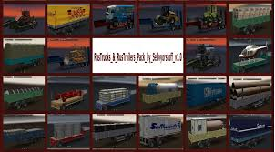 100 Correct Truck And Trailer RUSSIAN TRUCK TRAILERS PACK CORRECT LINK ETS2 Mods Euro Truck