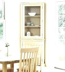 Corner Cabinet For Dining Room Tall Storage