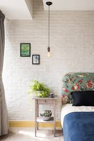 Home Designs: White Brick Bedroom - Eclectic Loft Designed For ... Home Designs Unique Plant Stands Stylish Apartment With Cozy 12 Tips For Petfriendly Decorating Diy Ideas Awesome And Cool Dog Houses Room Simple Pet Friendly Hotel Rooms Luxury Design Modern 14 Best Renovation Images On Pinterest Indoor Cat House Houses Andflesforbreakfast My Dog House Looks Better Than Your Human Emejing Photos Mesmerizing Plans Best Idea Home Design A Hgtv Interior Comely Designing A Architectural Glass Landing