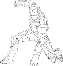 Awesome Ironman Coloring Pages 59 For Free Kids With